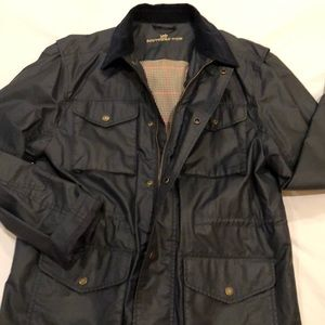 Southern Tide men's waxed twill field coat